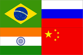 BRIC Country Flags