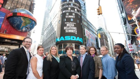 Business Wire Bulldog Reporter Ringing NASDAQ Opening Bell