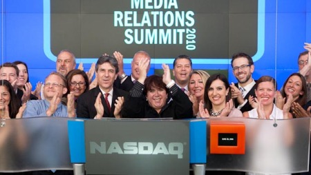 Business Wire Bulldog Reporter Ring NASDAQ Opening Bell