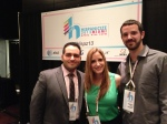Adrian Carrasquillo, NBC Latino; Pilar Portela, Business Wire; and Daniel Rivero, WLRN/Miami Herald News