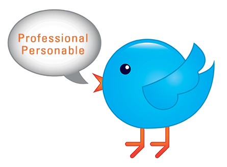 Keep your tweets professional bird