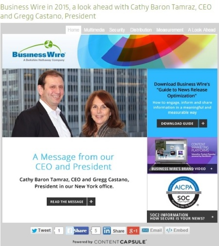 Business Wire Capsule