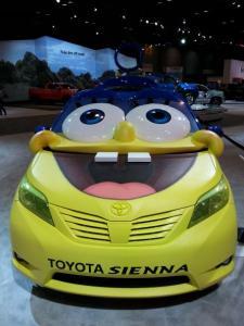 SpongeBob Inspired Toyotal Sienna