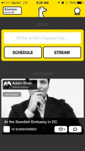 How to schedule on meerkat