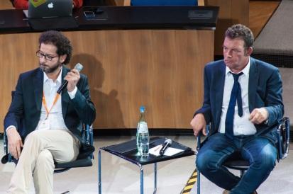 Dana Asaad and Asiem El Difraoui - Photo by Kai Prager