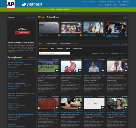 Videos distributed by Business Wire now receive global visibility via AP Video Hub